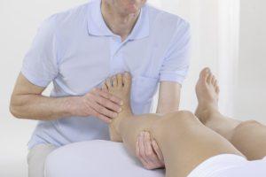 Lösen der Faszien im Fuß und Unterschenkel